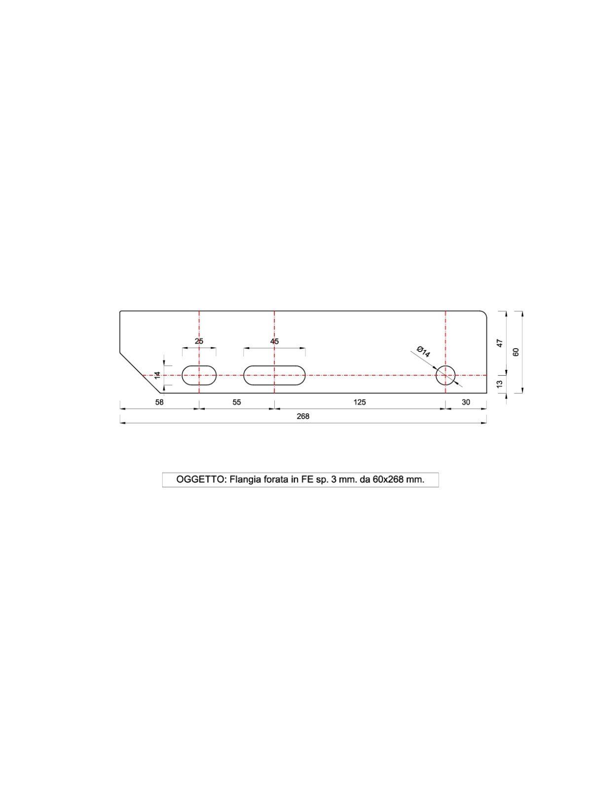 Costo Profilati Ferro Al Kg gradino standard in grigliato zincato con piastre forate e rompivisuale  dim. 700 x 268