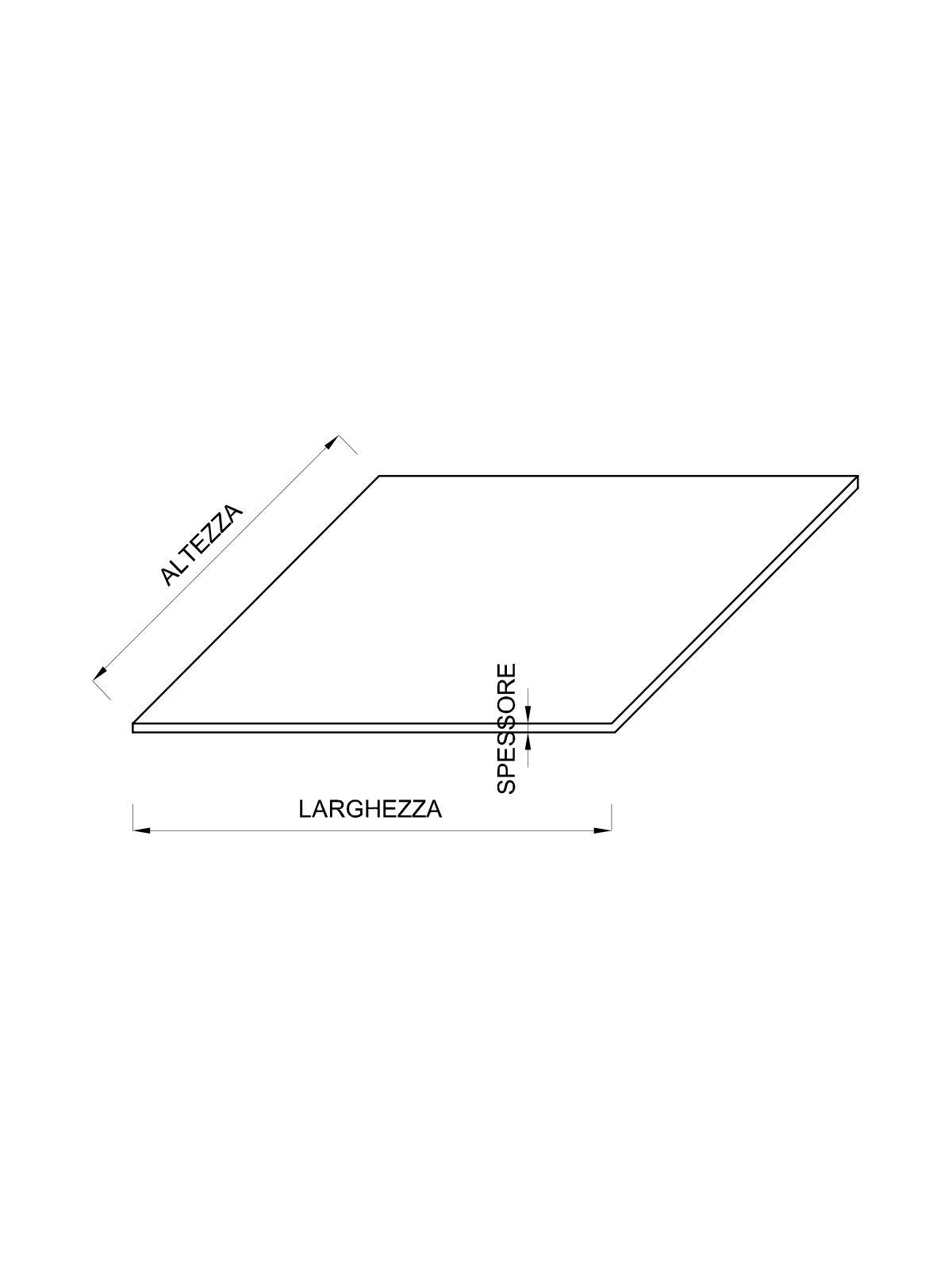 Costo Profilati Ferro Al Kg lamiera grezza in corten spessore 3 mm